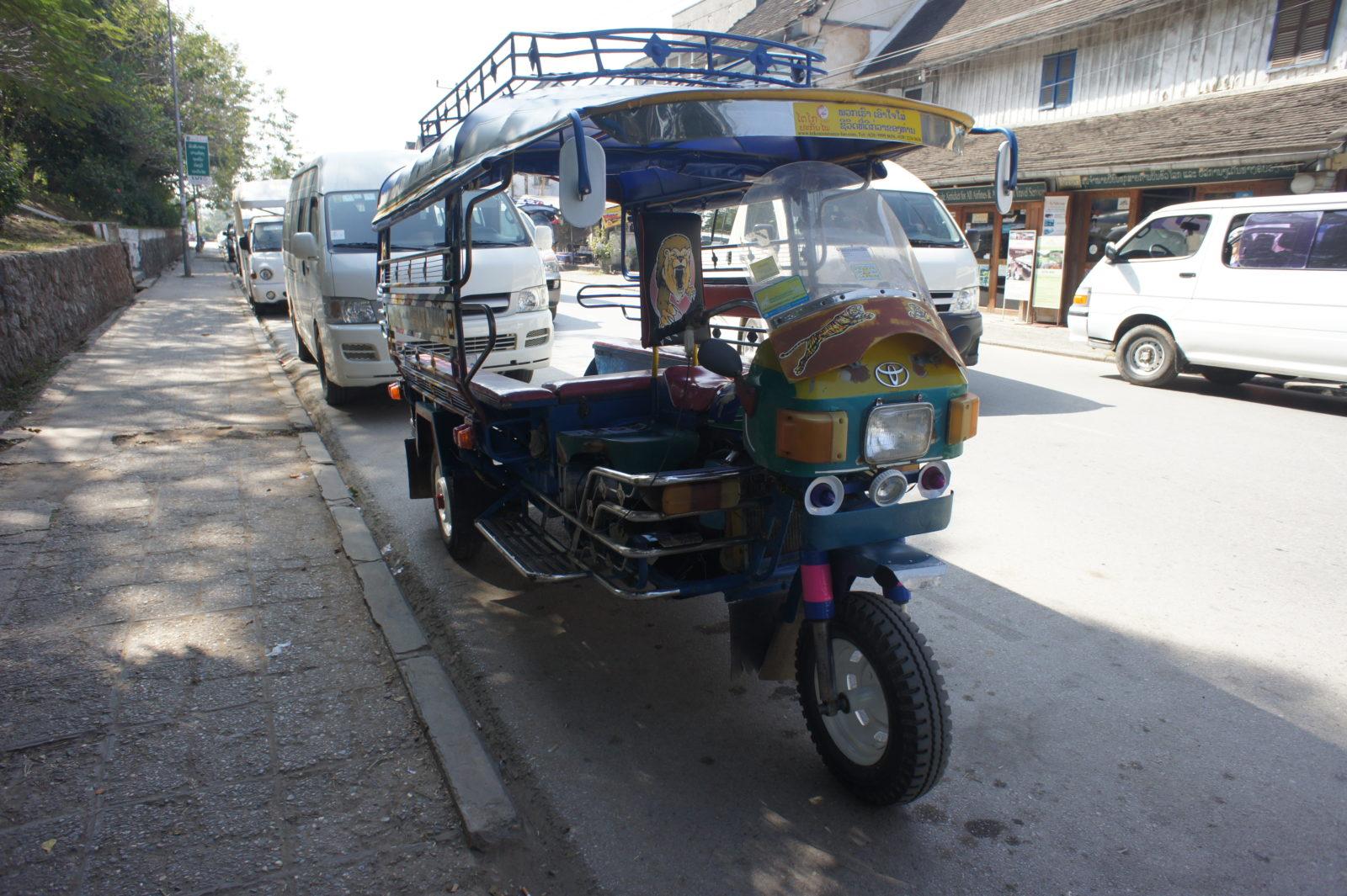 Tuk tuk, Luang Prabang