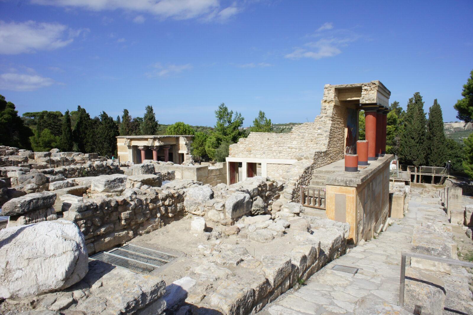 Knossos, Greece, 2012